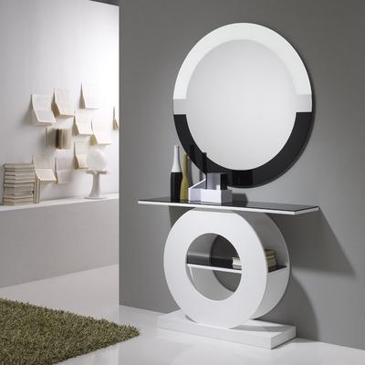 Muebles para entrada taquillones consolas espejos for Espejos de diseno para entradas
