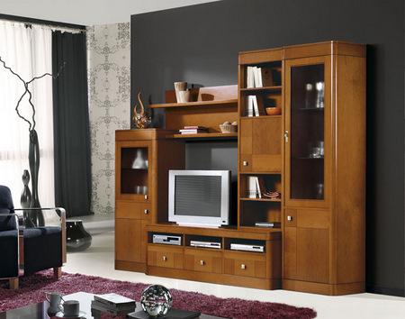 Muebles de estilo cl sico librerias a medida aparadores - Librerias modulares ...