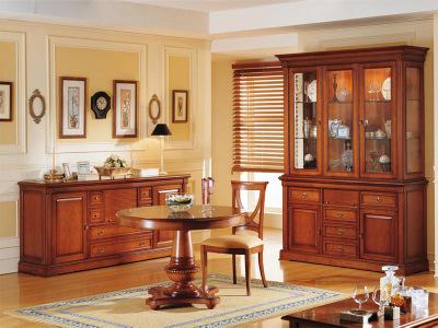 Muebles de estilo clásico,librerias a medida,aparadores,vitrinas