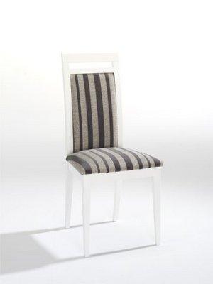 Sillas modernas respaldo tapizado - Tapizado de sillas de comedor ...